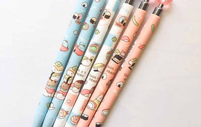 'We Love Sushi' Mechanical Pencil 3-Pack